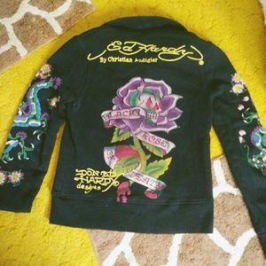 Ed Hardy sweatshirt jacket